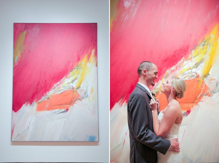 Shelbey And Barts Modern Wedding At The OKC Museum Of Art Shot By Rachel Photographs
