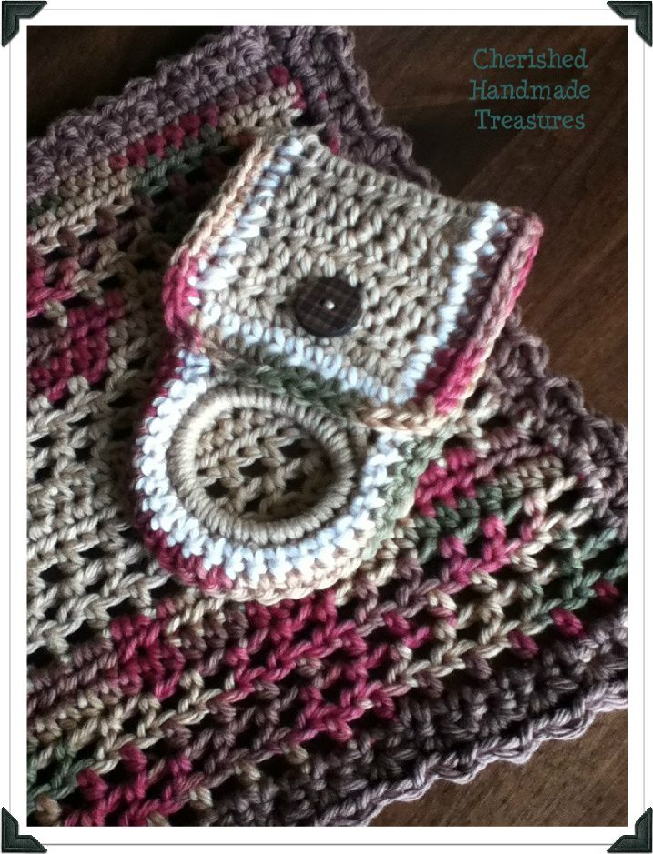 #Crochet-Crochet!! Towel Holder | Cherished Handmade Treasures