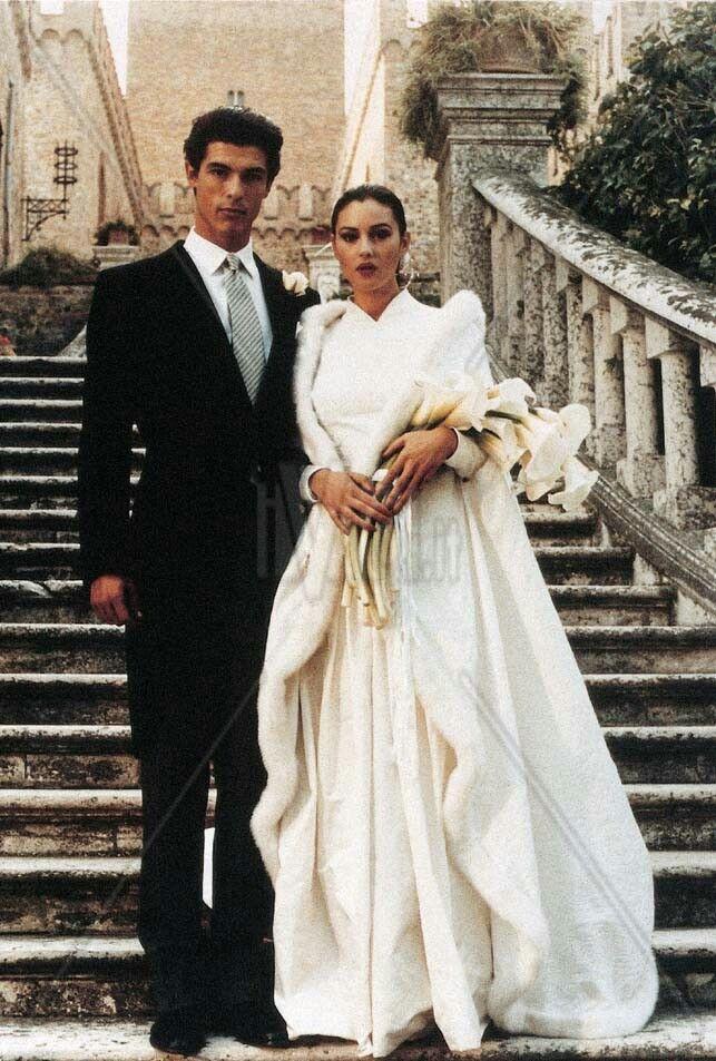 Ostinato destino, 1992, alessandro gassman e monica bellucci