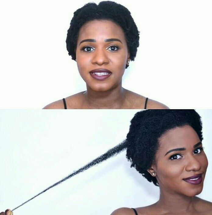 Natural Hair Extreme Shrinkage