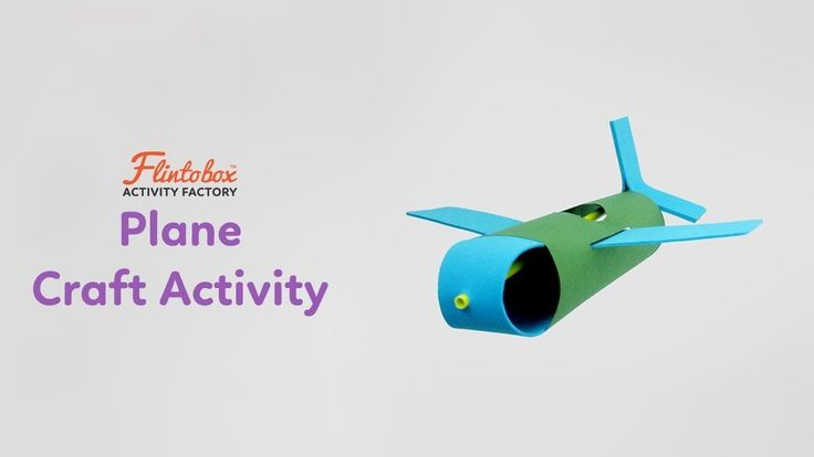 Waste Material Craft Ideas: How to make an aeroplane