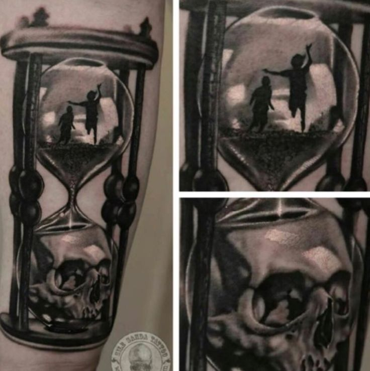 childhood death hourglass tattoo pinteres. Black Bedroom Furniture Sets. Home Design Ideas