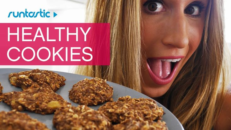 The BEST Healthy Cookies (you can eat even if you want to #loseweight) This recipe requires a minimum of 2 ingredients, none of which are butter, flour OR sugar. Intrigued?? Get the recipe now on the #Runtastic Fitness Channel.