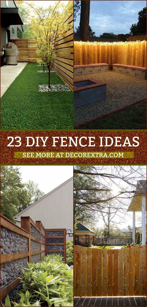 23 Creative Diy Privacy Fence Design Ideas Diy Backyard Fence