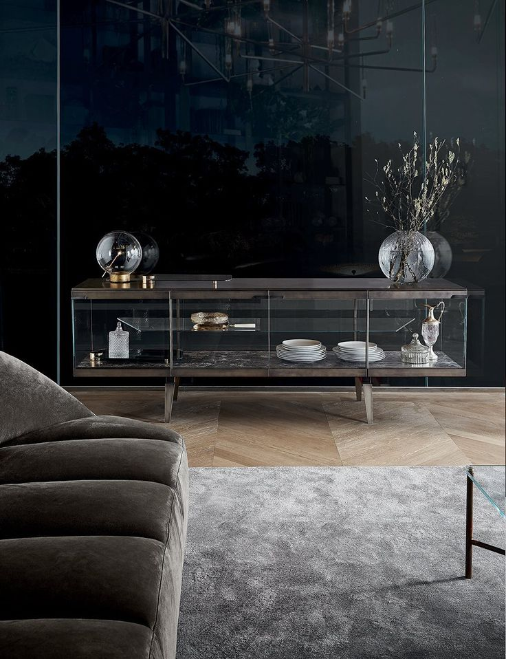 Sort of love this Pandora Light sideboard, but wow you'd have to be disciplined!