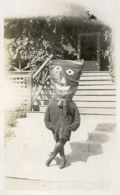 "Vintage costume picture from the book ""Haunted Air"" by Ossian Brown."