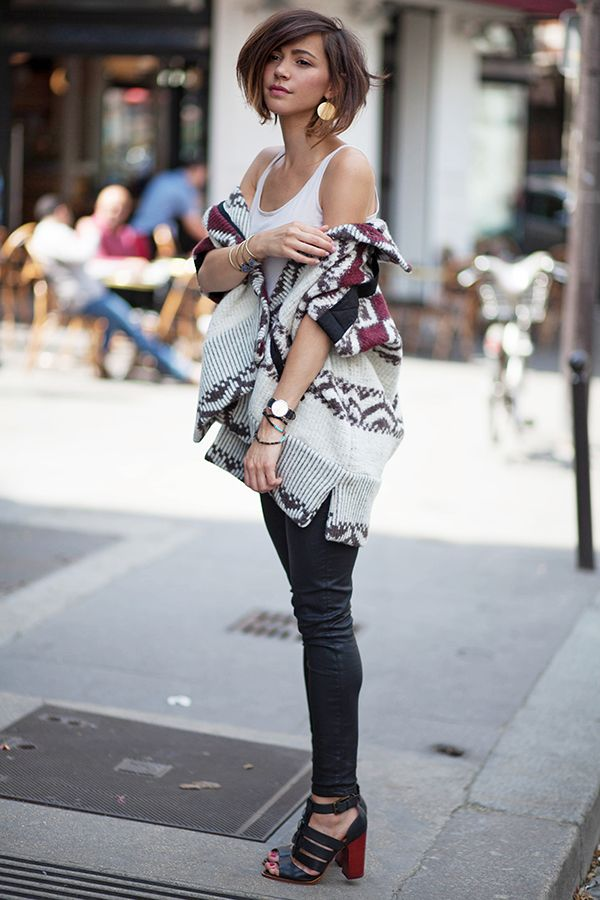 bohemian topper with casual outfit