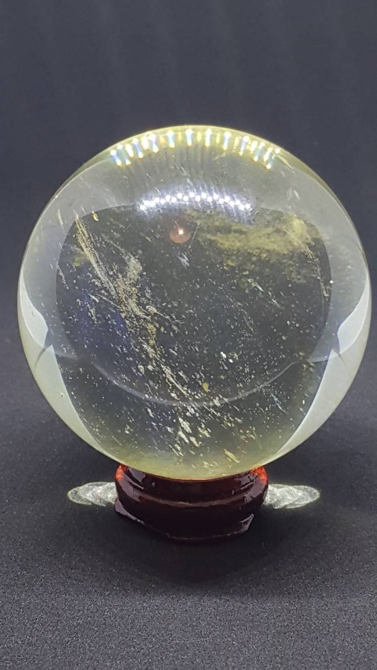 Excited to share the latest addition to my #etsy shop: Crystal ball, high temperature, yellow quartz, with wooden stand, 64 mm, crystal, gemstones, wicca, pagan. http://etsy.me/2oKevLq #supplies #clear #housewarming #round #quartz #yellow #gemstone #crystalball #crysta