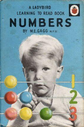 NUMBERS Vintage Ladybird Book Learning to Read Series 563 Matt Hardback 1975