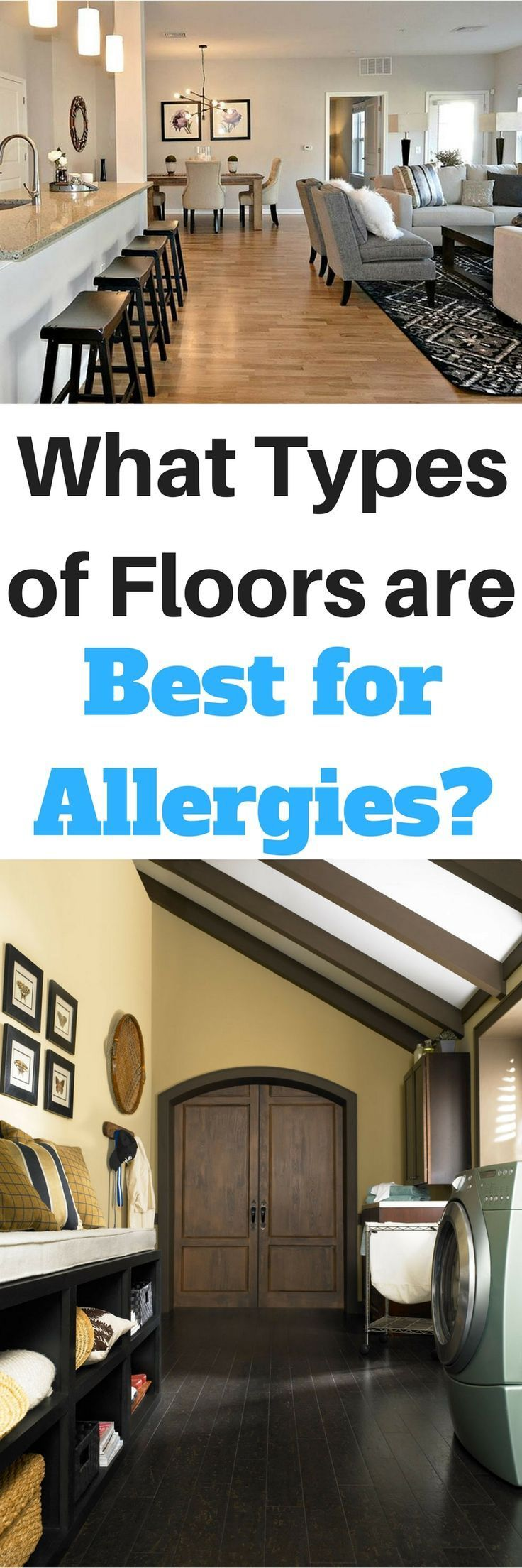 What types of floors are best if you have allergies or asthma