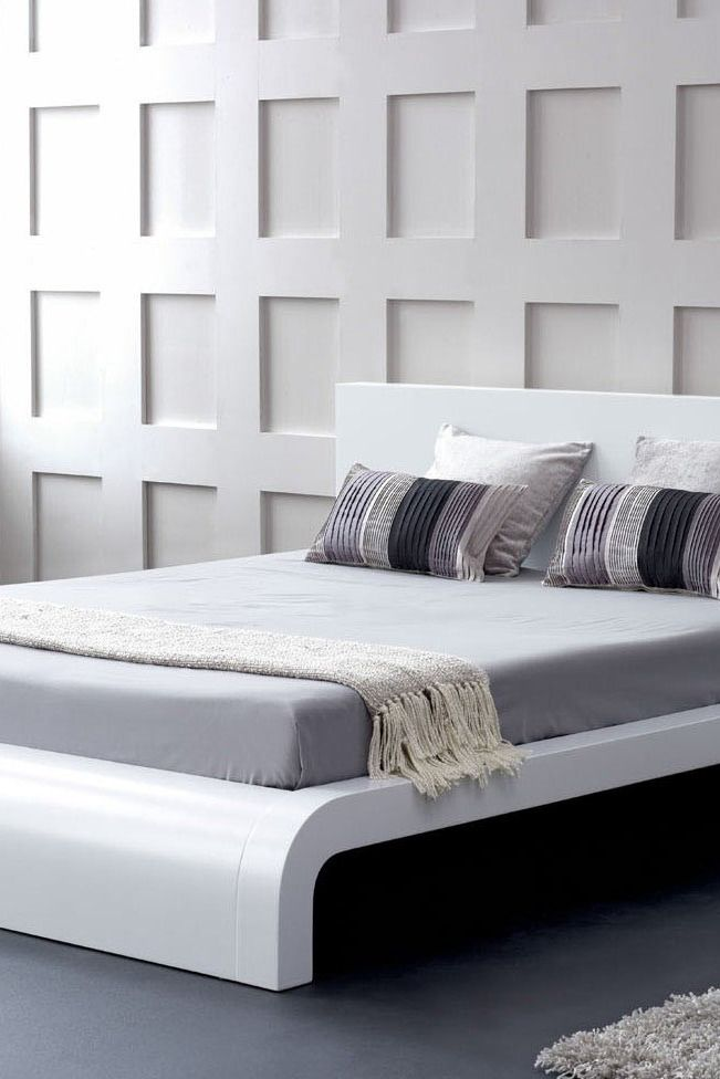 This Curvelicious bed shows off your curves in style! So modern and chic, its sure to add the contemporary flair your bedroom needs!