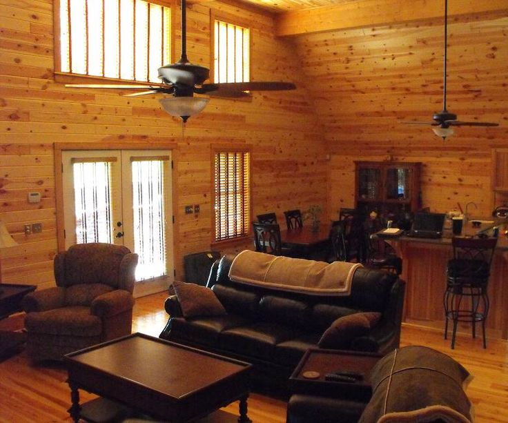 Interior pine wood paneling for the home pinterest - Interior design wood walls ...
