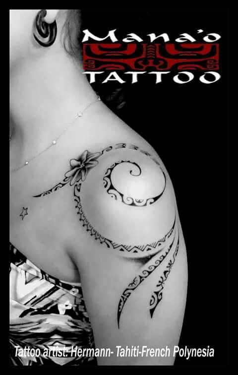 Tribal tattoo for shoulder and chest – Dövme – #Brust # Dövme # for #Shoulder #Tattoo