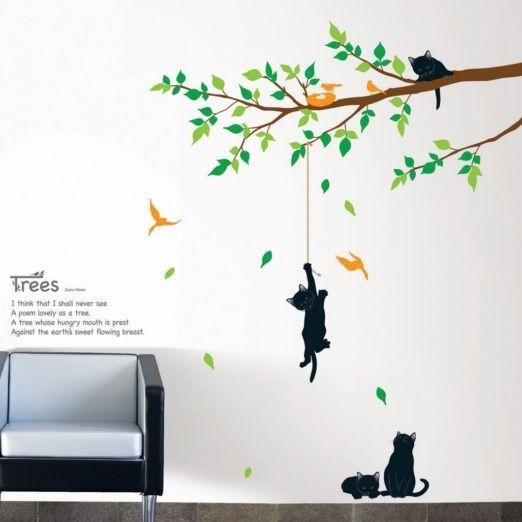 Best 25+ Flower Wall Decals Ideas On Pinterest