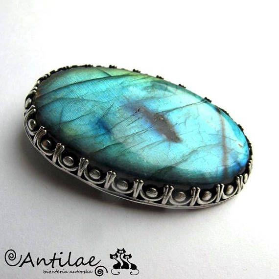 Glateco  Labradorite silver pendant