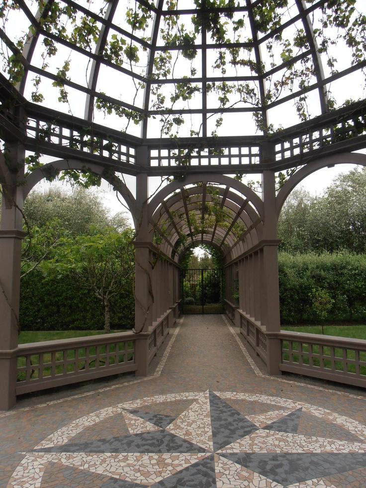 Hamilton Botanical Garden - has extensive 'rooms' featuring various countries. Gorgeous.