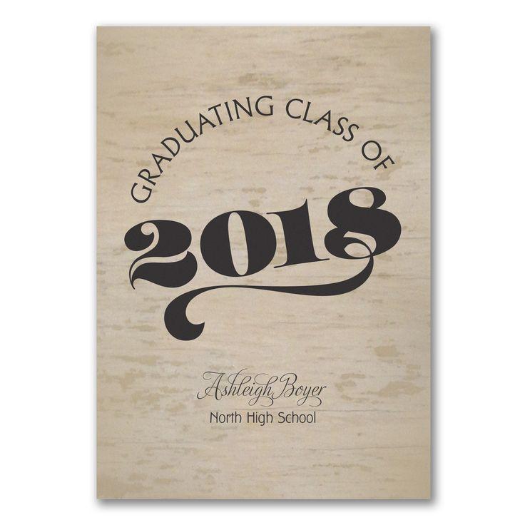 Best Homeschool Graduation Announcements Images On
