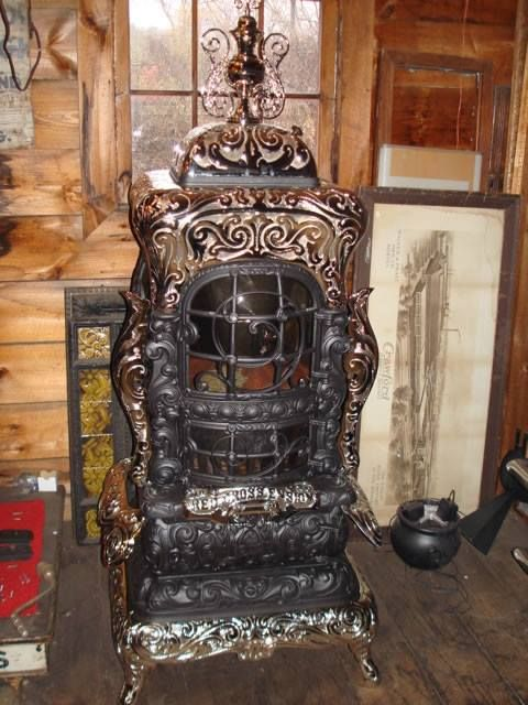 This Throwback Thursday we have a Red Cross Ensign Antique Stove that was made in 1895 Rochester, New York. The stove as you see it in the image is still fully functional and works well for warming up your home. #throwbackthursday #tbt #appliances