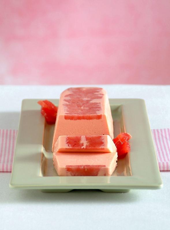 Semifreddo al Campari e pompelmo rosa