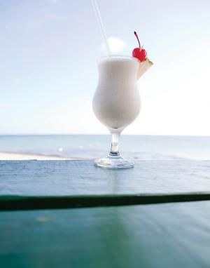 Tobago - Frozen Toasted Almond Drink Recipe - From the RenMar Restaurant & Bar in Tobago, this tropical drink has been     described as a sweet 'n' subtle almond-flavored milkshake for grown-ups