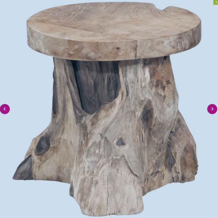 Opvallende bijzettafel Borneo is gevormd als een boomstronk voor het ultieme buitengevoel in huis. Vervaardigd van stevig teak, zodat je nog jaren van deze tafel kunt genieten.  Materiaal : teak Afmeting (hxb): 40xØ40 cm  Aantal pakketten: 1  Gebruiksvoorschrift  Ter voorkoming van kringen en of vlekken, adivseren wij het gebruik van onderzetters.  Onderhoudsvoorschrift  Dagelijks onderhoud: afnemen met een klamvochtige doek