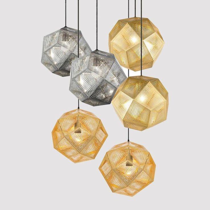 Geometric Globe Metal Mesh Gold Silver Industrial Pendant Light Restaurant Pendant Light Industrial Pendant Lights Pendant Light