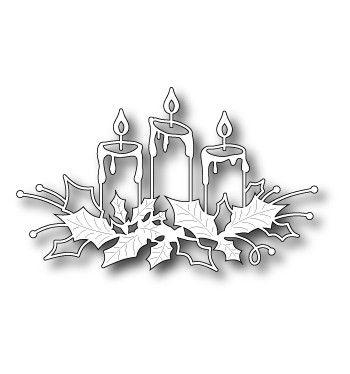 Memory Box Dies - Glowing Candles - 98661