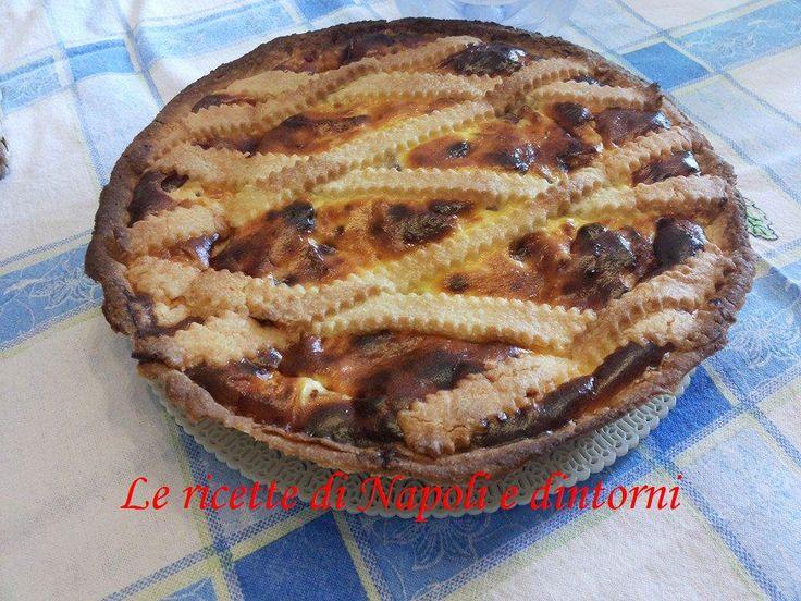 Pastiera salata #pastierasalata  http://blog.giallozafferano.it/lericettedinapoli1/la-pastiera-salata/