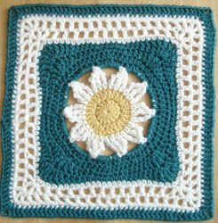 Blooming Lace Square 21 Blooming Granny Squares