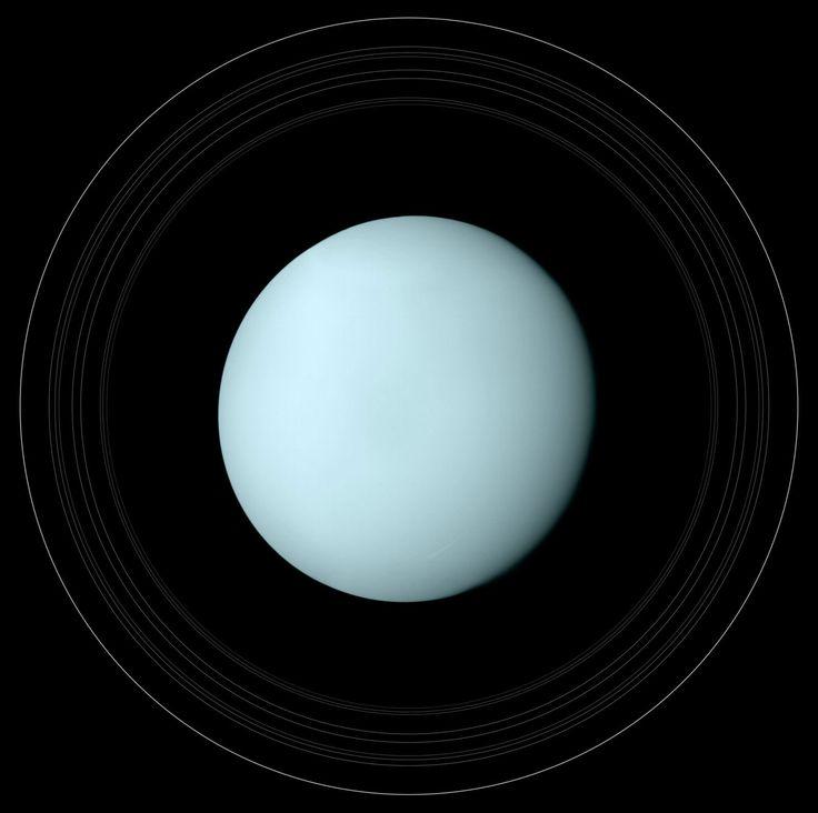 это все картинки планета уран с девятью кольцами странице каждой
