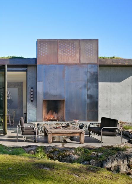 For Chimney Cladding Aluminium : Best metal cladding images on pinterest facades