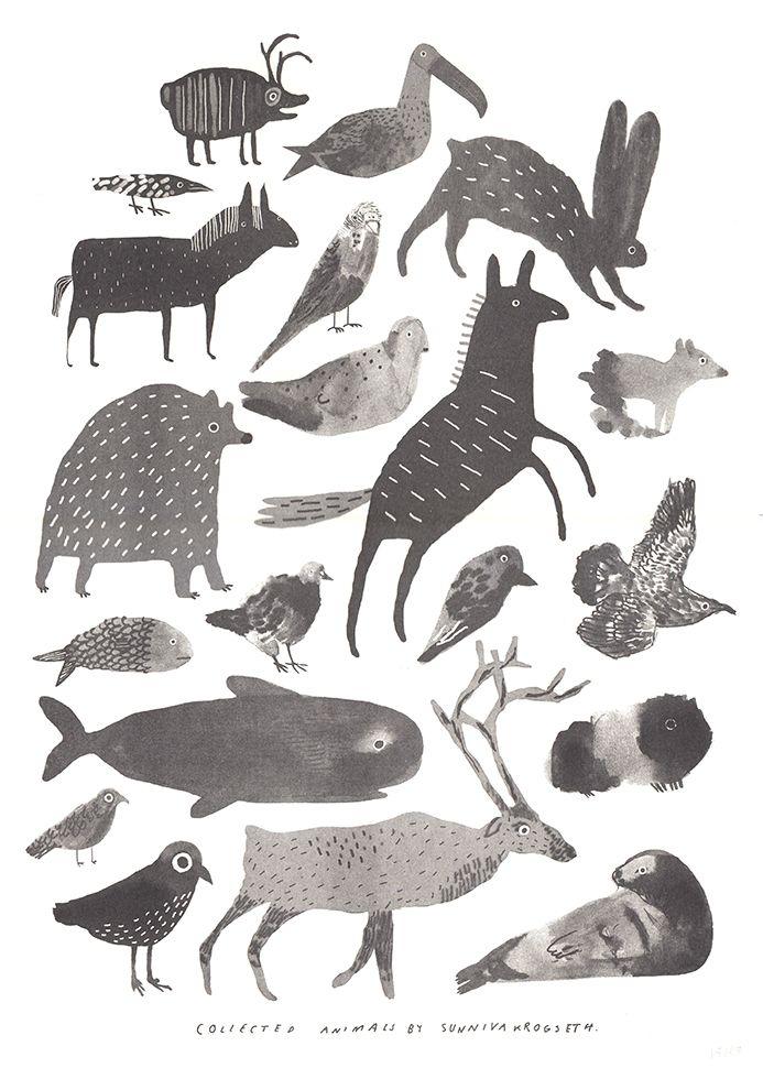 Animals by Sunniva Krogseth