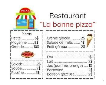 Cette ressource comprend: - un menu facile à lire (15 mots de vocabulaire) - 3 jeux à jouer avec les cartes de vocabulaire - 7 activités à réaliser avec le menu - une activité de bricolage (exemple, matériel nécessaire illustré et instructions simples à suivre) - une liste de stratégies utiles pour