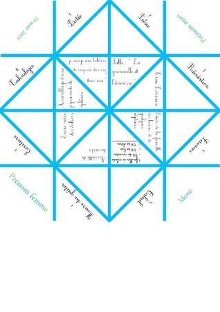 Plan d'impression pour Origami Menu