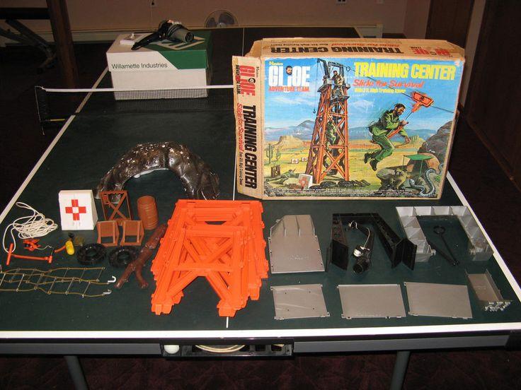 "1964 GI Joe Vintage Hasbro 12"" Adventure Team Training Tower Group, Box #Hasbro"