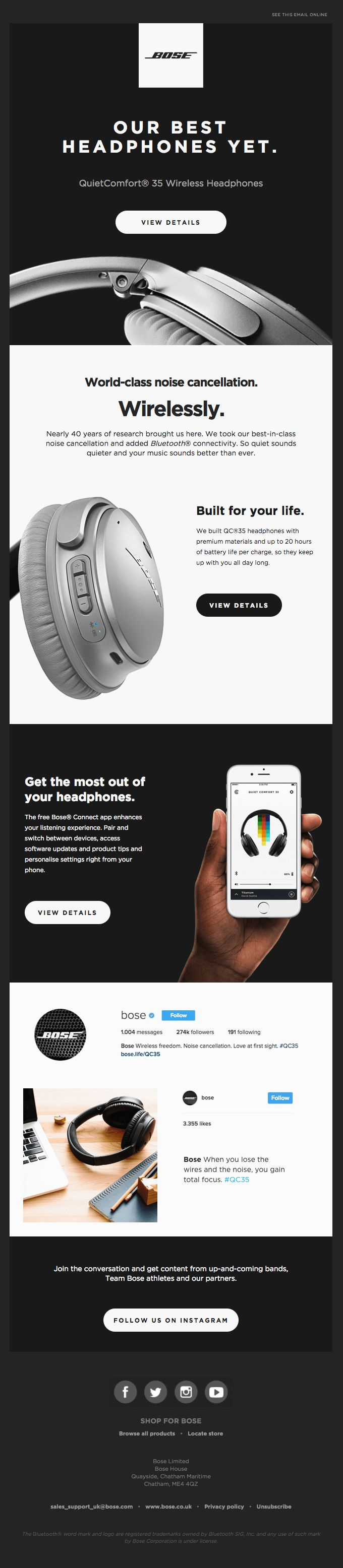 World-class Noise Cancellation + Wireless Freedom - Really Good Emails