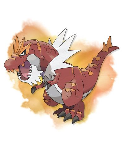 Tyrantrum - Tyrantrum is the evolved form of Tyrunt. Nothing could stop this Pokémon 100 million years ago, so it behaved like a king!