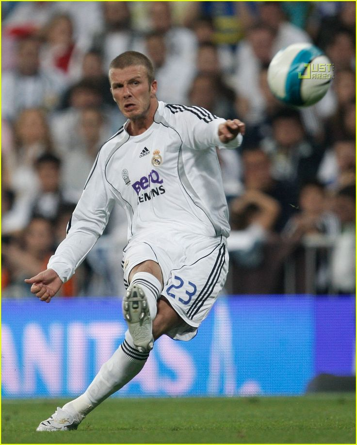 David Beckham at Real madrid