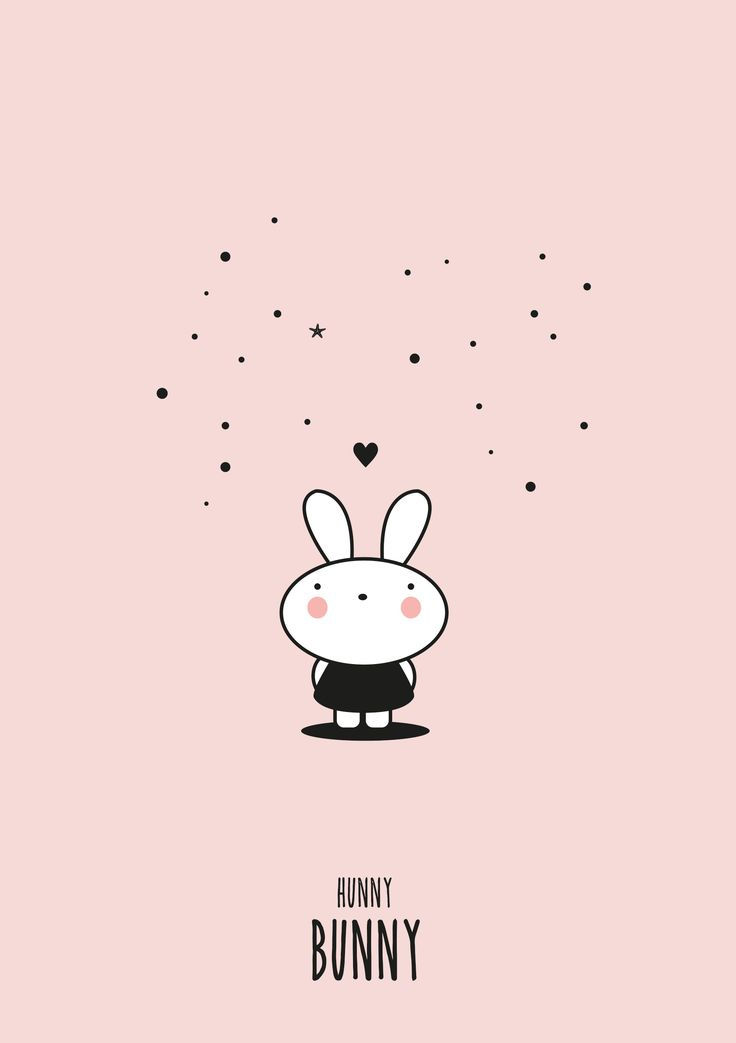 bunny love | Lepetitbiscuitshop #illustration