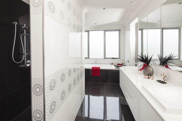 Luxury ensuite from master bedroom #design #bathroom # customhome