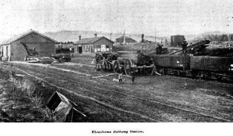 Eketahuna Railway Station