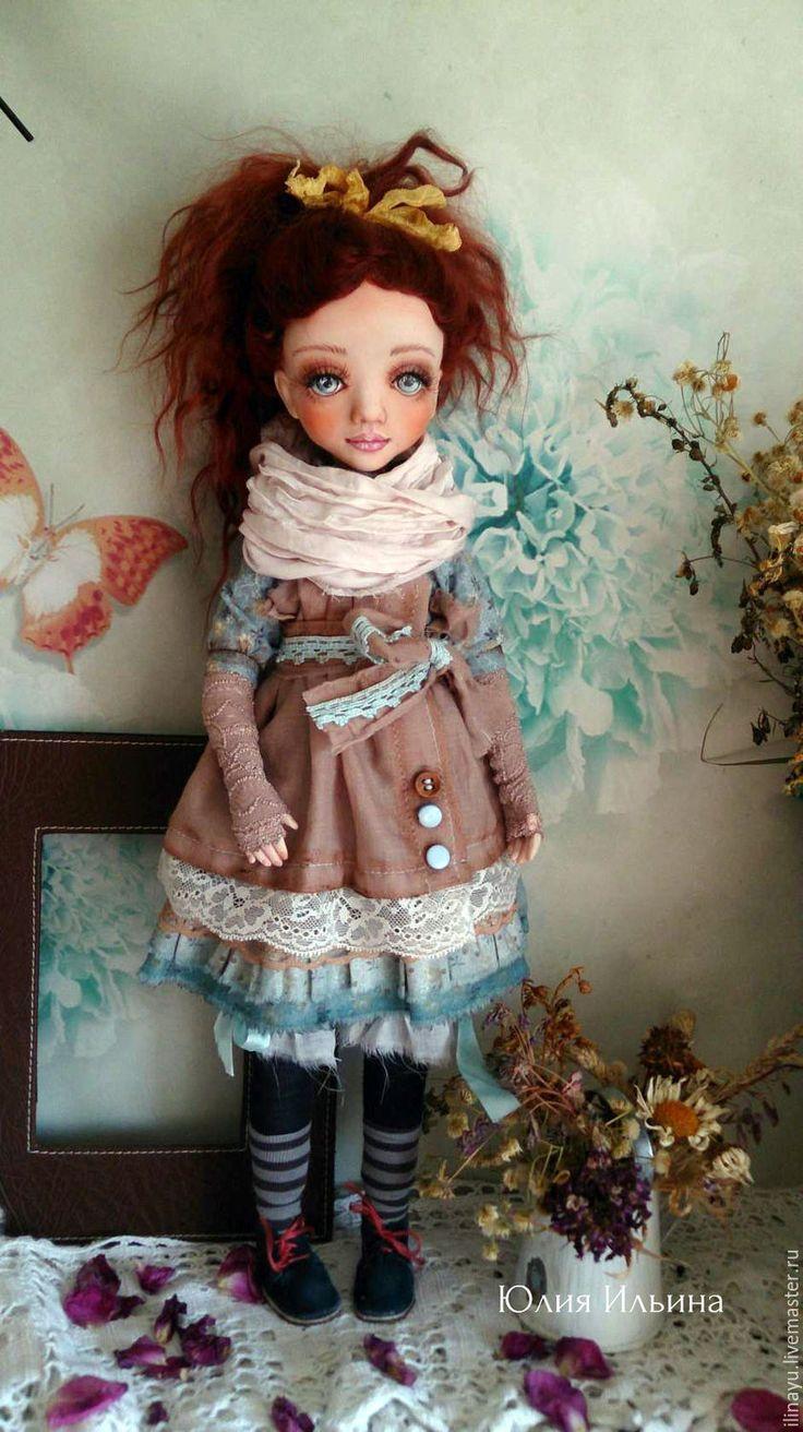Купить Диана - кукла, кукла ручной работы, кукла интерьерная, коллекционная кукла, хлопок, батист