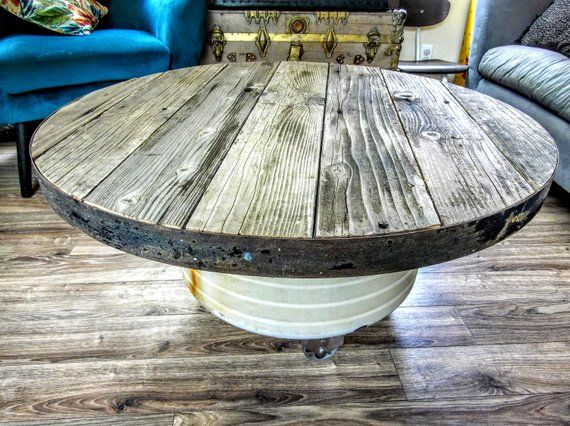 Image 0 Round Wood Table Rustic Dining Table Unique Coffee Table