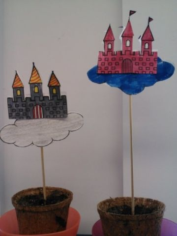 Math lesson in fairy tales: measure, chart beanstalk growth! http://ow.ly/i/29UiR   Smartboard practice slide: http://ow.ly/ldiiG