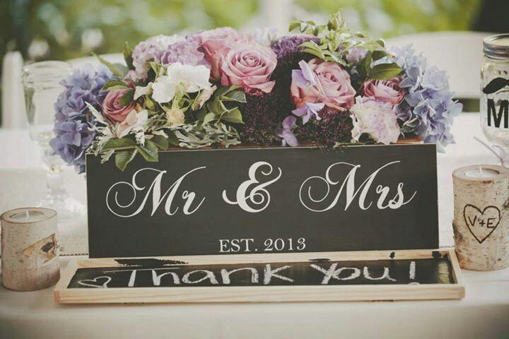 Wedding box Mr & Mrs