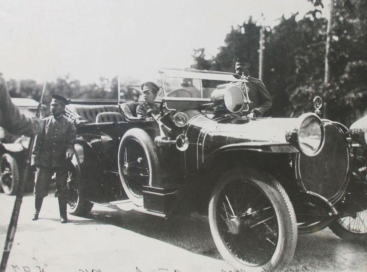 1916 in Russia, French Delauney-Belleville auto