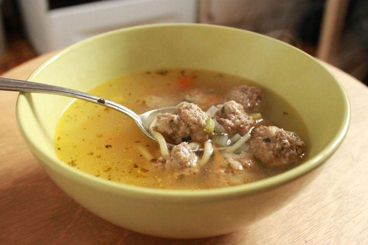 Домашний рецепт супа с фрикадельками