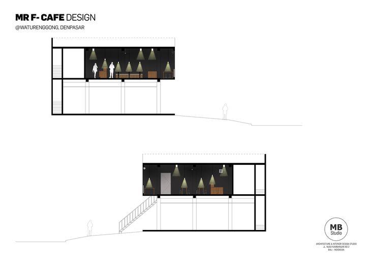 SECTION MR F CAFE DESIGN
