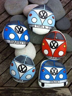60 Easy Rock Painting Ideas For Inspiration