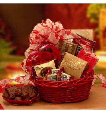 Chocolate Inspirations Valentine Gift Basket Unique DIY